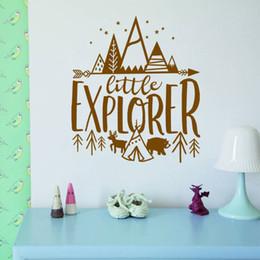 $enCountryForm.capitalKeyWord Australia - Little Explorer Wall Decals Kids Room Adventure Stickers Nursery Decor Wallpaper Wall Art Tattoos