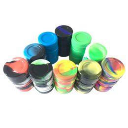 $enCountryForm.capitalKeyWord Australia - Round Small Silicone Wax Container Non-stick Smell Proof ,BPA Free Food Grade Srorage Jar 7 ML