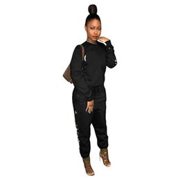 Chinese  Autumn Long Sleeve T Shirt Pants Women Tracksuit Tights Leggings 2 Piece Sportswear Brand GYM Joggers Women Clothing M707 manufacturers