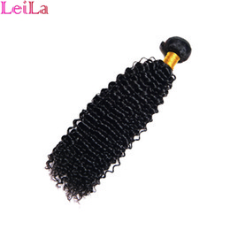 Virgin hair bundles fast shipping online shopping - hot selling free fast shipping brazilian deep wave curly virgin human hair Bundles Jerry curly wave hair bags