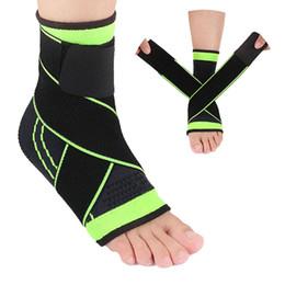 Ingrosso Cinturino per caviglia unisex adulto supporto basket, calcio, badminton sport guardia di sicurezza protezione della caviglia calze calde dimensioni libere