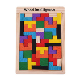 $enCountryForm.capitalKeyWord UK - Colorful Wooden Tangram Brain Teaser Puzzle Toys Tetris Game Preschool Magination Intellectual Educational Kid Toy Gift
