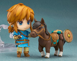 Link action figures online shopping - New Fashion Good Smile Nendoroid Link Zelda Figure Breath of the Wild Ver DX Edition Deluxe Version Action Figure Cartoon Toys