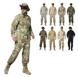 TacTical uniforms online shopping - Kryptek Mandrake camouflage uniform SHIRT PANTS tactical camo tactical army suit