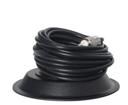 Chinese  nmo magnetic roof mount base Car mobile transceiver Accessories 5M feeder cable 11cm magnet PL259 port Magnetic Antenna manufacturers