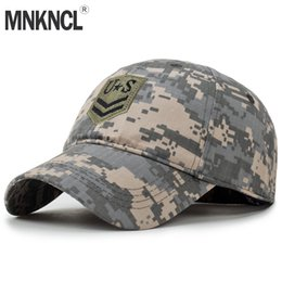 1682a5facdb 2018 New High Quality US Army Baseball Cap Men Bone Militar Tactical Cap  Camo Gorras Militares Hombres Camouflage Snapback Hat