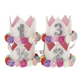$enCountryForm.capitalKeyWord UK - Baby Mini Birthday Hat Hairband Princess Queen Crown Party Hair Band Elastic Headband Head Wear Hat Infant Kids Headwrap Hair Accessories