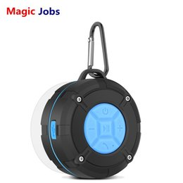 Magic_Jobs Outdoor IPX7 Waterproof Bluetooth Speaker Wireless Portable Subwoofer Loudspeaker Shower Bicycle Speakers Suction Cup on Sale