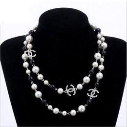 жемчуг натуральный жемчуг белый бисер ожерелье для женщин длинный свитер цепи Colar ювелирные изделия bijoux