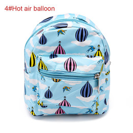 $enCountryForm.capitalKeyWord Canada - New Cute Portable Mini Backpack Shape Printed Makeup Bag Travel Organizer Waterproof Pouch Toiletry Bags LBY2018