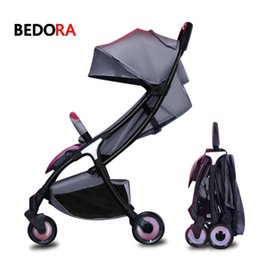 4bc8c39ad El cochecito de bebé portátil Bebaby cochecito puede sentarse y tumbarse en  un carrito ligero, ultra ligero, con bolsillo para niños.