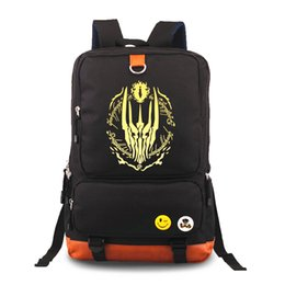 Lord rings print online shopping - New The Hobbit The Lord of Rings Eye of Sauron Printing Backpack Laptop Canvas Backpacks School Bags Rucksacks