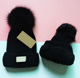 venda por atacado 2018 Unisex Outono Inverno de pelúcia homens marca chapéus casuais clássico crânio bonés gorros de esqui hip hop mulheres Bonnet gorros atacado