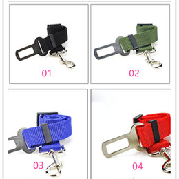 Bicycle Safety Led NZ - Adjustable Car Dog Car Safety Belt Nylon Pets Puppy Seat Lead Leash Harness Vehicle Seatbelt fast shopping jc-121