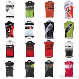 2018 Radfahren Jersey Herren Fahrrad Sportswear Reiten ärmellose Bike Kleidung