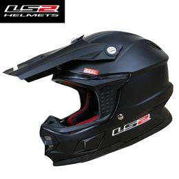 Race Glasses NZ - LS2 MX456 off-road motorcycle helmet ATV dirt bike racing helmets fiber glass shell removable washable lining air pump system