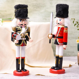 $enCountryForm.capitalKeyWord NZ - 30cm Nutcracker Puppet Soldiers Home Decorations Merry Christmas Popular Ornaments Party Kids Favor Gifts Arts and Crafts 18sw ii
