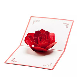 discount handmade new year cards valentines day birthday card korea creative 3d handmade small card