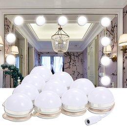 Dimmer Güç Kaynağı ile makyaj Ayna Vanity LED Dim Işık Ampüller Kiti Fiş Aydınlatma Armatürü Şerit Dokunmatik Kontrol DIY Lamba