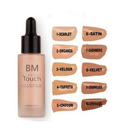 Wholesale Younique Touch Liquid Foundation Concealer Cream Moodstruck Opulence BB Cream color ml dropshipping
