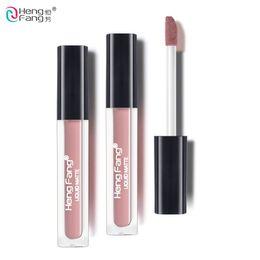 Lipstick Lasts Australia - Long-lasting Waterproof Matte Liquid Lipstick 20 Colors Lip Gloss Beauty Makeup Brand HengFang