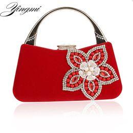 Ladies Evening Handbags Australia - Shell Design Flower Shell Accessory Women Handbags Beaded Lady Day Clutches Purse Evening Bag For Wedding