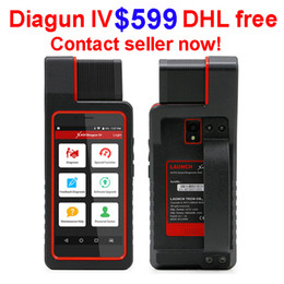 Discount launch x431 diagun free Launch X431 Diagun IV Diagnostic Tool 2 year Free Update VIA Wifi Bluetooth with 25 gifts X431 Diagun IV better than dia