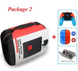 Chinese  Switch NS Console Carrying Storage Bag Hard Case Joystick Handle Grips + Silicone Case For N Switch Accessories manufacturers