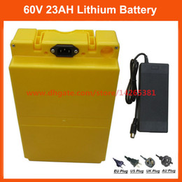 $enCountryForm.capitalKeyWord Australia - Free customs duty Ebike battery 60V 23AH lithium ion battery 60V use NCR PF 2900mah cell 30A BMS with 67.2V 2A Charger