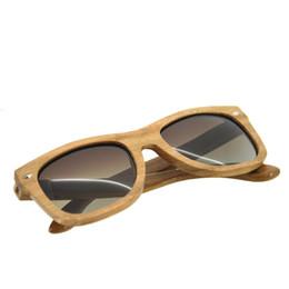 SunglaSSeS man polariSed online shopping - BEDATE G006A Polarised Wooden Sunglasses Wood Frame Sunglasses with UV Blocking Polarized Lens Multicolor