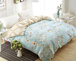 Chinese  Soft Duvet Cover Flower Pattern Polyester Fiber Bedclothes Home textiles Full Queen King Size Duvet Cover Only manufacturers
