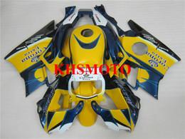Honda F2 1991 Australia - Motorcycle Fairing kit for Honda CBR600F2 91 92 93 94 CBR600 F2 1991 1992 1994 ABS Yellow blue Fairings set+Gifts HG09