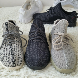 Discount rock band shoes - 2016 Fashion Moonrock Boots Black Breathable Running Shoes Kanye West Boots Moon rock Sports Sneakers With Shoes Box