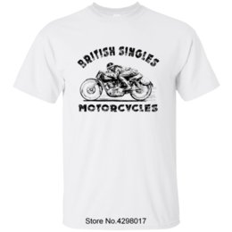 Discount british clothing for men - Casual British Motorcycles T Shirt 2018 Cotton Round Collar Clothes Triumph T Shirt For Men Fitness Hip Hop