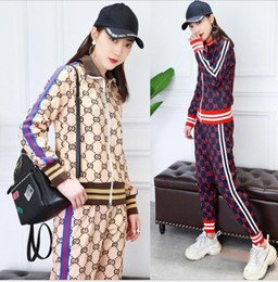 $enCountryForm.capitalKeyWord UK - 2018 spring new Korean version of the trend of college wind printing round neck long-sleeved women's suit manufacturers wholesale shirt + pa