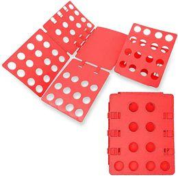 Mezcla de 5 colores plegables ajustables Carpeta rápida Ropa Camisetas Doblez plegable Fácil de plegar Paños en venta