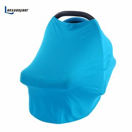 Scarf Shops Australia - Lanxuanjiaer Stretchy 4 in 1-Car Seat Cover Canopy and Nursing Scarf, Multi Use as a Shopping Cart Cover or High Chair