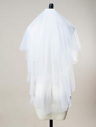 Beaded Veils White Australia - 2019 Short Bridal Veil Veil Wedding White Ivory Veil China Factory Store High quality Best-selling style