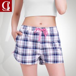 a6d5f569e09a ORIGINAL CILER Summer Print 100% Cotton Pajama Shorts Women Loose Summer Print  Pajama Shots Sleepwear Bottoms