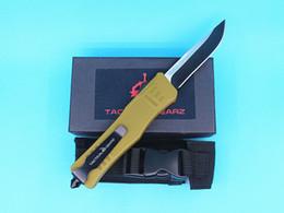 $enCountryForm.capitalKeyWord Australia - Allvin Army Green Handle 616 Large Size Auto Tactial Knife 440C Single Edge Drop Point Fine Black Blade Outdoor Survival Tactical Gear