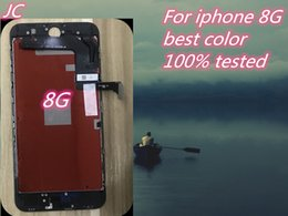 Iphone Color Lcd White Black Australia - iPhone 8G LCD Display Screen With Touch Digitizer Assembly For iPhone 8G White Or Black Color Free Shipping