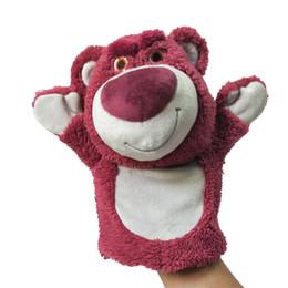 $enCountryForm.capitalKeyWord NZ - Hot style strawberry bear hand puppet stuffed toy hand puppet pop doll dubbing prop claw machine doll