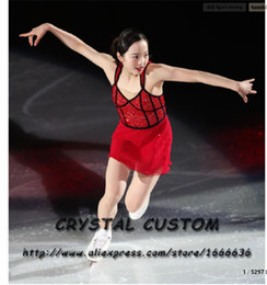 figure competition NZ - Custom-Made Figure Skating Dress Adult New Brand Figure Skating Dresses For Competition DR4784