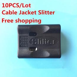 Wholesale 10pcs lot Tube Cable Jacket Slitter Cable Stripper Loose Tube Jacket Slitter Fiber Stripper