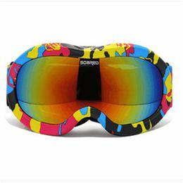 $enCountryForm.capitalKeyWord Australia - Children Snow glasses skiing Eyewear Snowboarding double anti-fog UV Lens Flying Sunglasses windproof ski goggles Girl Boy