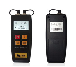 Power Supply Laser UK - Supply Handheld YJ-550 Fiber optic power Meter Laser Light Source and 5MW Fiber Optic Visual Fault Locator Free shipping