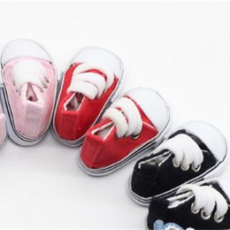 China 5cm 1 6 BJD Barbie Doll Shoes Mini Fashion Canvas Casual Shoes For Home Decor Children Fun Dress Game 5bb WW cheap wool toys for children suppliers