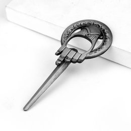 $enCountryForm.capitalKeyWord Australia - Game of Thrones Hand Of The King Bottle Opener Bar Beer Opener A Song of Ice And Fire Keyring Without Chain free ship