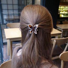aadfad9d828 Fashion elegant Women headwear shiny Diamond Butterfly claw clip for women hair  accessories drop shippping
