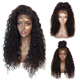 $enCountryForm.capitalKeyWord NZ - Heavy Density Human hair Brazilian Kinky Curly Wig Glueless Lace Afro Curly Wig With Baby Hair Cheap Curly Lace Wig For Black Women